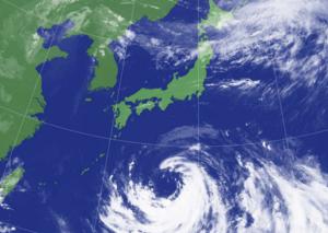 台風10号は大型から超大型へ