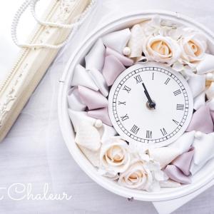 幸せな時を刻む花時計