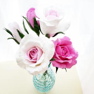おうち時間 お花を飾りましょう
