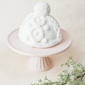 クレイで作る ニット帽子ケーキ