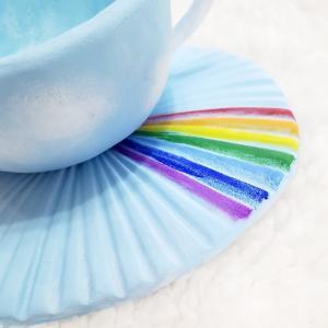 カップを青空に 好きな色で作れます