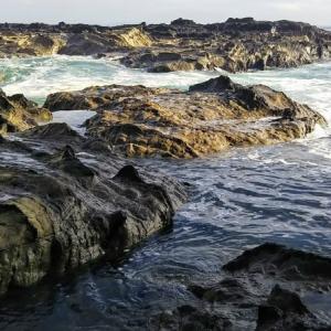 究極の散策道「岩礁のみち」