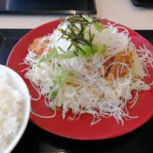 """かつや 期間限定 """" 塩カツ丼&定食 """""""