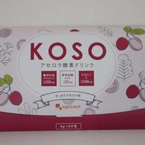 オーガランド【アセロラ酵素ドリンク】KOSO 実際に飲んだレビュー&口コミ