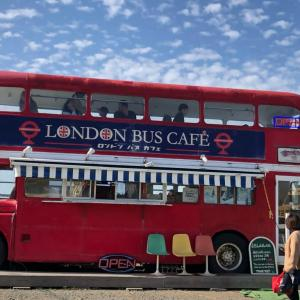 ロンドンバスカフェへ