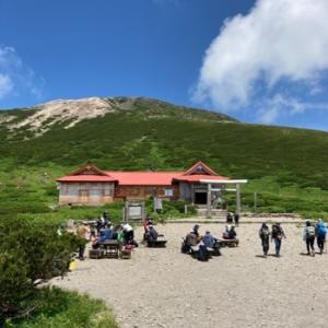 夏山開きした白山。