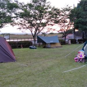 車のオイル交換とキャンプ