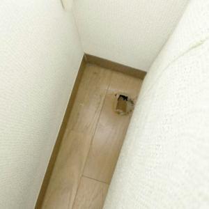 床に穴が~(-_-;)