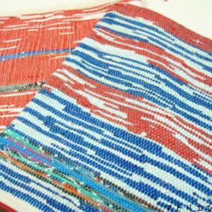 手織りで雑貨(リジット機)