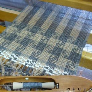 新しい織り、色糸効果