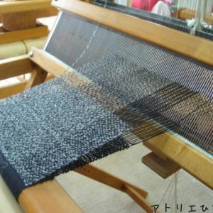 袋織り(差し込みマフラー)