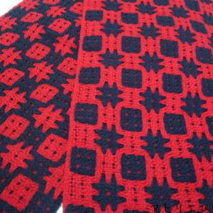 deflected double weave 織り上がり