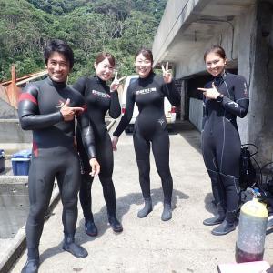 8月1日(土)うばら2ビーチ&体験ダイビング♪