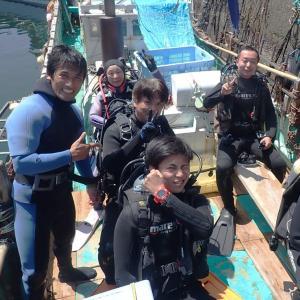 8月5日(水)うばら1ボ1ビ&体験ダイビング♪