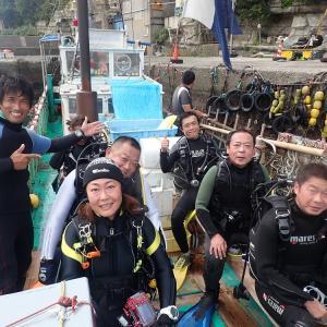9月19日(土)うばら2ボート&OW&DM講習&体験ダイビング♪