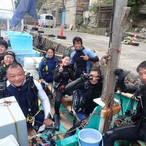 9月20日(日)うばら2ボート&OW&DM講習&体験ダイビング♪