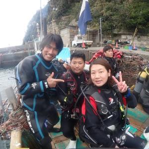 11月28日(土)うばら2ボート&ダイブマスター講習♪
