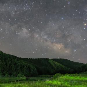 2015年5月 田んぼと星空