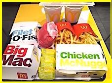 マクドナルドでドカ食い!またまた超カロリーオーバー!!