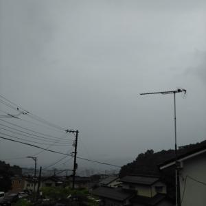 雨でも出て来た;   松﨑勝美氏個展