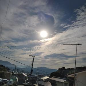 宇宙を行く龍の言葉   今日も面白い雲がたくさん見えましたよ