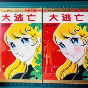 58歳・昔の漫画を読む~和田慎二作『大逃亡』