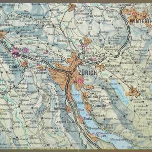 ヨーロッパ5ヶ国ツアー -9 チューリッヒ、グリンデルヴァルト