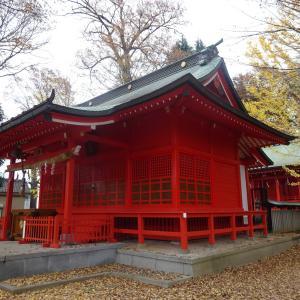 多摩市-5 小野神社と川風のコース TOKYO Walking Map