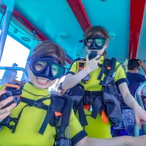 プーケット女子旅で楽しむラチャヤイ島体験ダイビング
