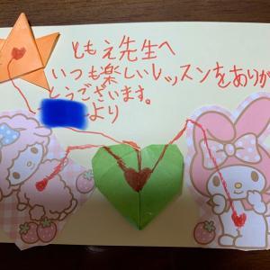 お手紙ありがとう♪ (船橋市・ピアノ教室)