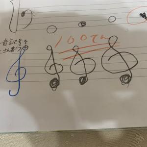 音楽ノートは、宿題です! (船橋市・ピアノ教室)