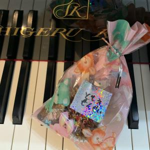 バレンタインありがとう♪ (船橋市・ピアノ教室)