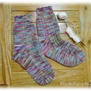 台風編み編み