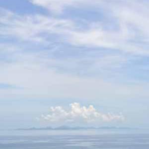 沖縄の空の写真