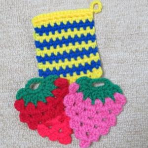 今日の編み物!
