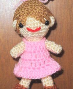 人型ちゃんを編みました!