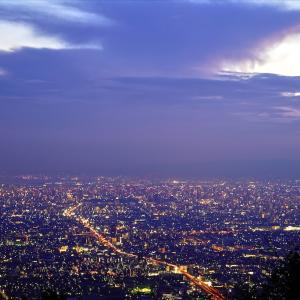 信貴生駒スカイラインの夜景