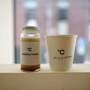 CHAMI-Speciality Coffee Roaster(チャミ)の瓶入りプリンとコーヒー
