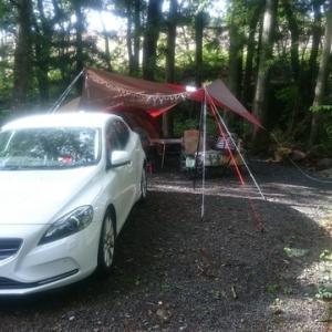 N.A.O.明野高原キャンプ場で今年初キャンプ