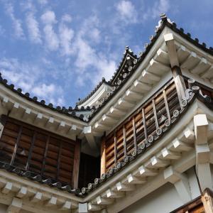 福知山城の天守閣の石組み