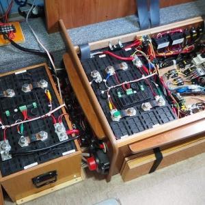 リン酸鉄リチウムに替えて発電機を撤去