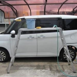 久し振りにカミさんの車を洗車