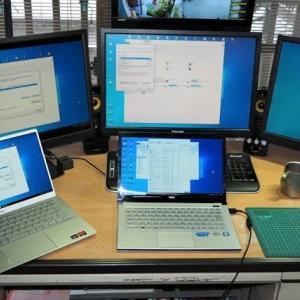 雨降りの盆はパソコンの快適化