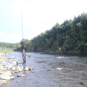 先日の鮫川
