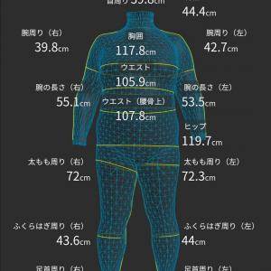 ZOZO スーツ計測  (2019.10.8)