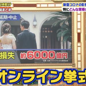 【絶望】結婚は不要不急!新型コロナウイルスの影響で結婚する人が激減して日本オワタwwwwwwww
