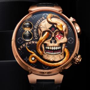 【爆売れ必至!!】ガイコツをモチーフにした腕時計が世界的ハイブランドのルイ・ヴィトン様から発売!お値段なんと5,500万円…