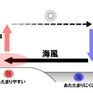 【中2理科】海陸風と季節風のポイント