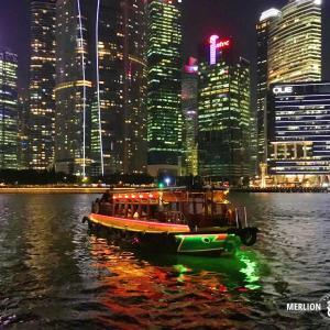 マリーナ湾を周遊「シンガポール・リバークルーズ」きらめく夜景を満喫