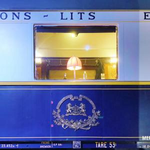 憧れの豪華列車はロマンとミステリーの香り『オリエント急行展』